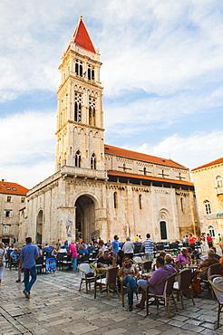 Cathedral of St. Lawrence (Katedrala Sv. Lovre), Trogir, UNESCO World Heritage Site, Dalmatian Coast, Croatia, Europe