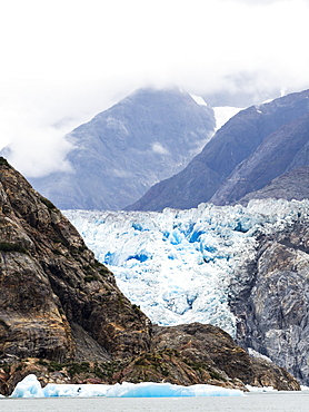 South Sawyer Glacier, Tracy Arm-Fords Terror Wilderness Area, Southeast Alaska, United States of America