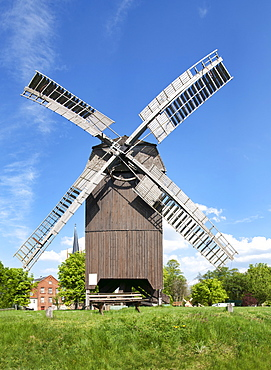Windmill in Werder an der Havel, Land Brandenburg, Germany