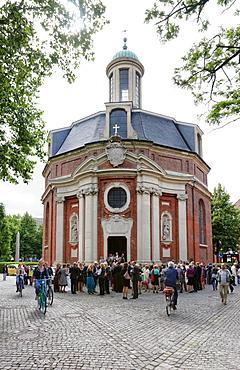 Church of St. Clemens, Clemenskirche, Muenster, North Rhine-Westphalia, Germany