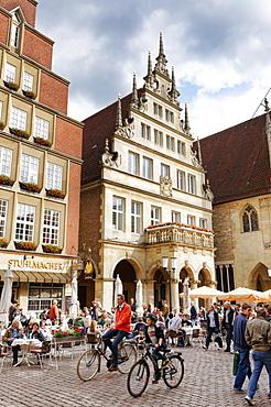 Stadtweinhaus, Prinzipalmarkt, Muenster, North Rhine-Westphalia, Germany