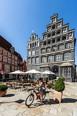 Chamber of Industry and Commerce building, Am Sande, Lueneburg, Lower Saxony, Germany