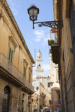 Cathedral Basilika Santa Croce in the historical center of Lecce, Lecce Province, Apulia, Gulf of Taranto, Italy, Europe