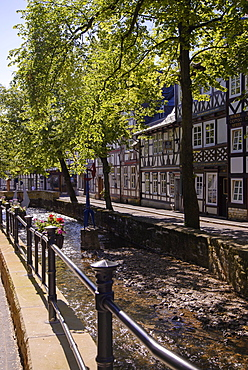 An der Abzucht, Goslar, Harz, Lower-Saxony, Germany, Europe