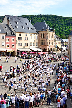 Dancing procession in Echternach, Luxembourg