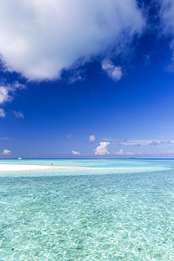 Beach at Meeru Island Resort, Meerufenfushi, North-Male-Atoll, Maldives