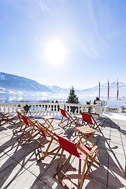 Grand hotel Zell am See, Salzburger Land, Austria, Europe