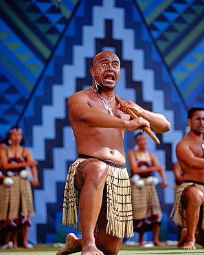 Rotorua Maori Arts Festival, Maori Hakka dance