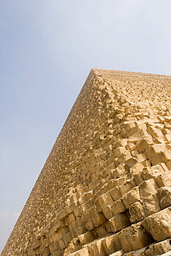 Chephren Pyramid, Pyramids of Giza, Cairo, Eqypt