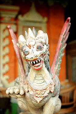 dragon, mask, bali, indonesia