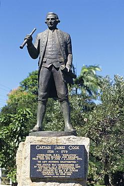 Captain Cook Statue, Cooktown, Queensland, Australia