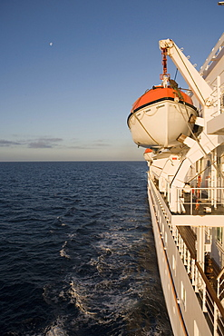 MS Bremen Cruising Smooth North Sea Waters, Aboard MS Bremen Cruise Ship, Hapag-Lloyd Kreuzfahrten, Germany
