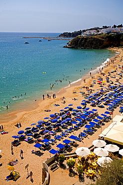 Portugal Algarve Albufeira beach