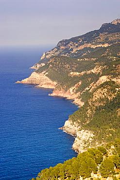 Mallorca, west coast, cliff line