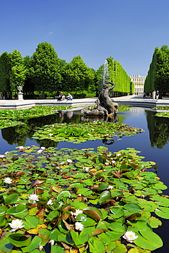 Fountain of the Naiads, Schoenbrunn Palace, Vienna, Austria