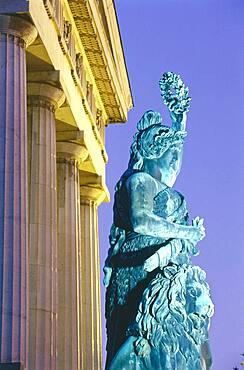 Statue of Bavaria, Theresienwiese, Munich