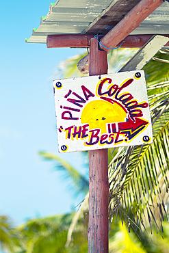 Cuba, Cayo Blanco, Varadero, beach bar, pina colada, cocktail, cocktails, beach, sun, fun, holiday, vacation, palm tree