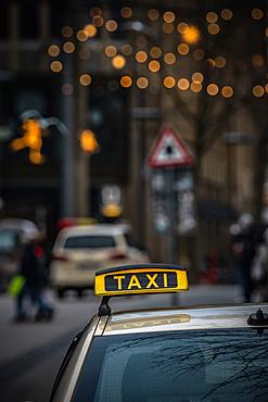 Taxi in Hamburg, Germany