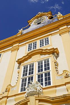 Window, Melk Abbey, Wachau, Lower Austria, Austria