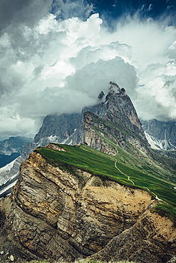 Seceda in the Dolomites, South Tyrol, Italy, Europe