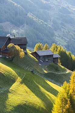 Farm on the Grossglockner High Alpine Road, Carinthia, Austria