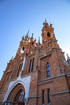 Exterior view of the Sacred Heart Church, Samara, Samara District, Russia, Europe