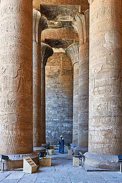 Temple guard in Aswan