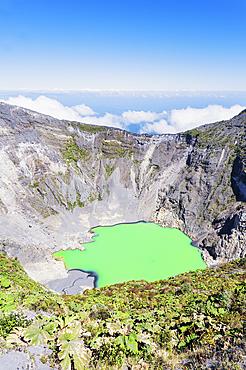Irazu volcano, Irazu Volcano National Park, Cartago Province, Costa Rica