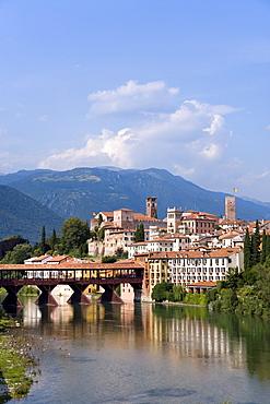 Alpini Bridge, Bassano del Grappa, Veneto, Italy
