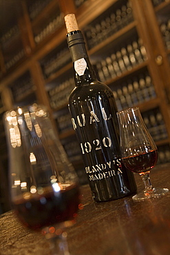 Madeira Wine Tasting at The Old Blandy Wine Lodge, Funchal, Madeira, Portugal