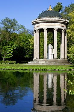 Temple of Apollo, Nymphenburg Palace Park, Munich, Bavaria, Germany