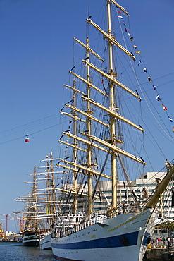 Tall Ship Regatta, Barcelona, Catalonia, Spain