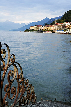 View over Lake Como to Bellagio, Lombardy, Italy