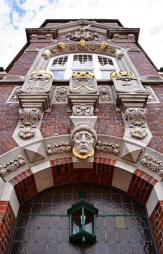 County hall, Wittmund, East Frisia, Lower Saxony, Germany