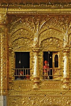 Golden Temple, holy shrine, Sikh holy place, Amritsar, Punjab, India, Asia