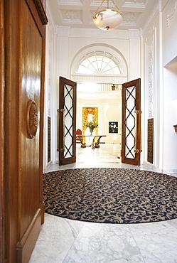Foyer, Hotel Buehlerhoehe, Buehl, Black Forest, Baden-Wuerttemberg, Germany
