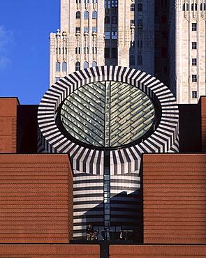 USA California San Francisco Downtown Museum of Modern Art MOMA by swiss architect Mario Botta