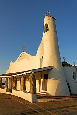 Italy Sardinia Costa Smeralda Porto Cervo Stella Maris church