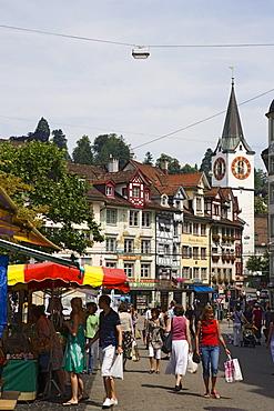 Market, St. Gallen, Canton of St. Gallen, Switzerland