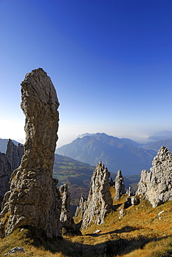 Pinnacles of Grigne, Bergamo Alps, Como, Lombardy, Italy