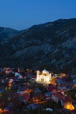 Pedoulas, village, Marathasa valley, Troodos mountains, Cyprus