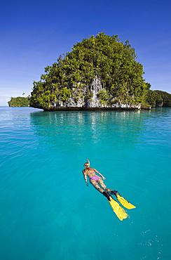 Snorkeling Rock Islands, Micronesia, Palau