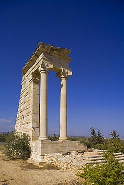 Apollo Hylates temple, Ancient City of Kourion, Kourion, South Cyprus, Cyprus