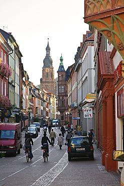 Old Town of Heidelberg, Baden-Wuerttemberg, Germany