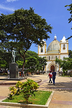 Iglesia de San Nicolas de Bari, Plaza Bolivar, Porlamar, Isla Margarita, Nueva Esparta, Venezuela