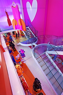 Agatha Ruiz de la Prada fashion store, Madrid, Spain
