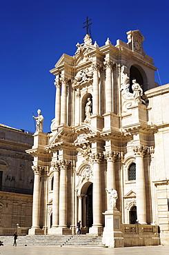 Cathedral, Syracuse, Ortygia island, Sicily, Italy