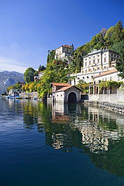 Luxury villas at Orta San Giulio, Lake Orta, Piedmont, Italy