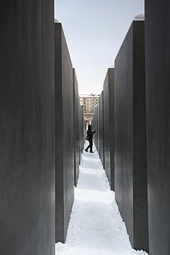 Jewish Memorial, Berlin Mitte, Berlin, Germany