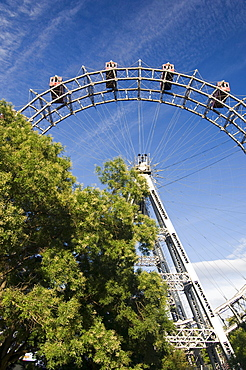 Big wheel, Prater, Vienna, Austria, Europe